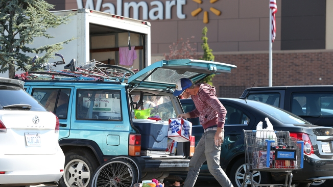"""""""Burners"""" Rained Out of Burning Man Converge on Wal-Mart"""