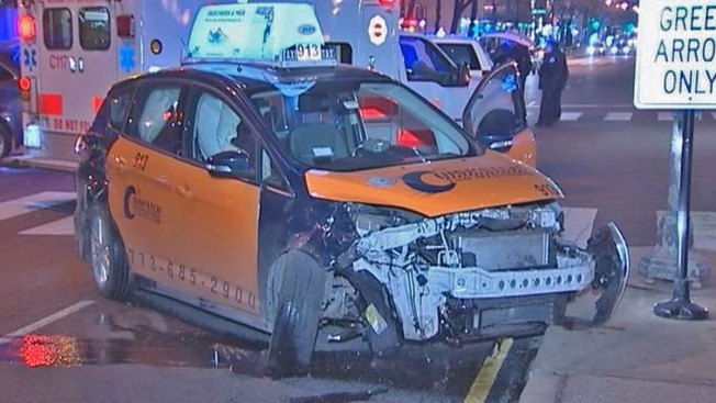 Cab Driver Injured in Crash With SUV