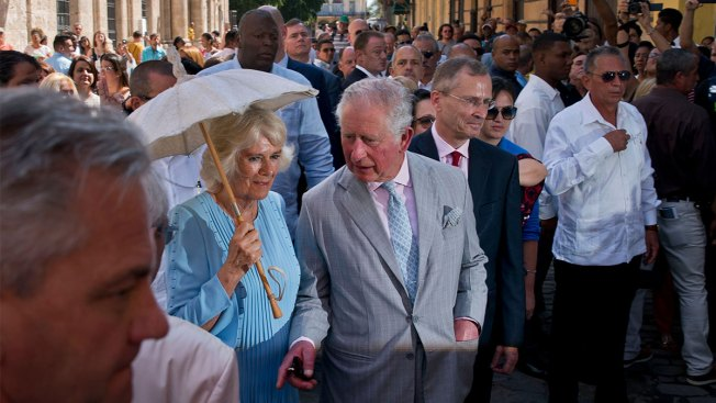 Prince Charles, Camilla Tour Old Havana on Royal Visit