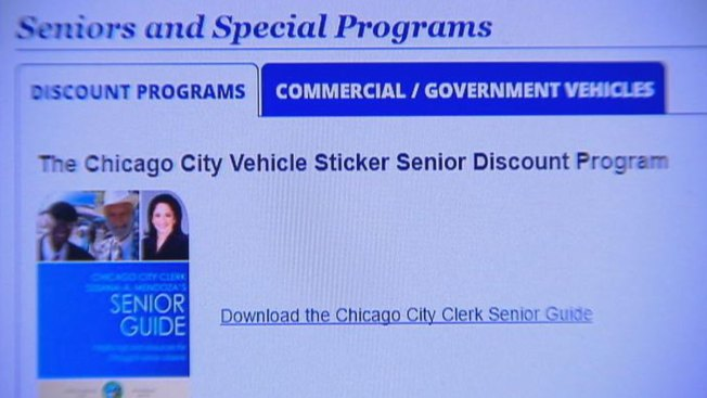 Chicago Vehicle Stickers