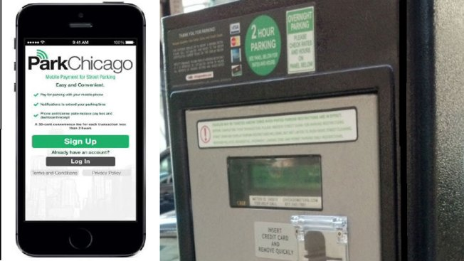 Chicago to Test New Parking Meter App