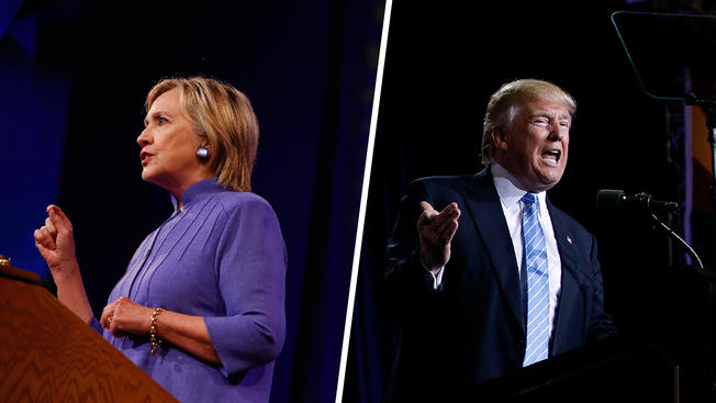 Clinton, Trump Jockey Over Who Would Best Fight Terrorists