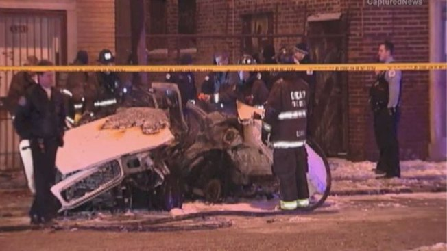 Two Killed in Early New Year's Day Crash