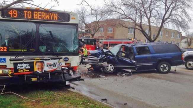 15 People, Including 2 Kids, Injured in Head-on Crash Involving CTA Bus