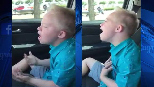 'Amazing Dane' Goes Viral With Rendition of Whitney Houston Song