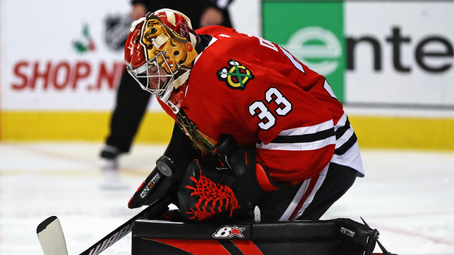 Darling Gets First Shutout; Blackhawks Beat Tired Coyotes