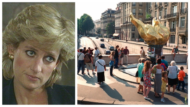 Paris Wants a 'Princess Diana Square' at Site of Her Death