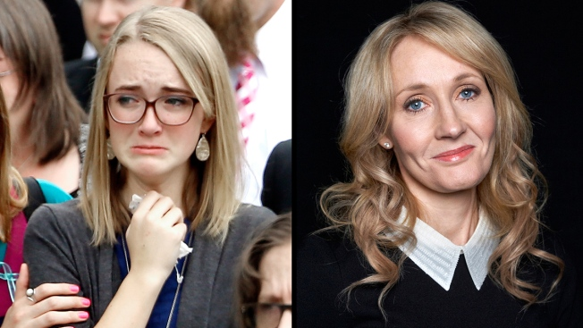 J.K. Rowling Sends Care Package to Grieving Teen Cassidy Stay