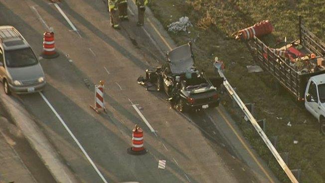 Woman Seriously Injured in Elgin-O'Hare Expressway Crash; Driver Ran Off