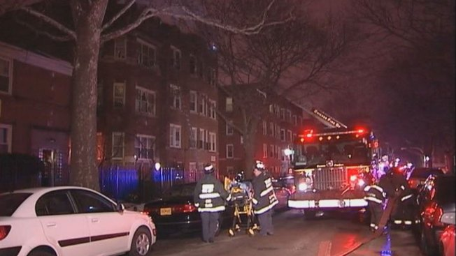 Man Jumps Out Window in South Side Fire