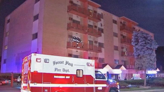 One Hurt in Fire at Senior Living Complex