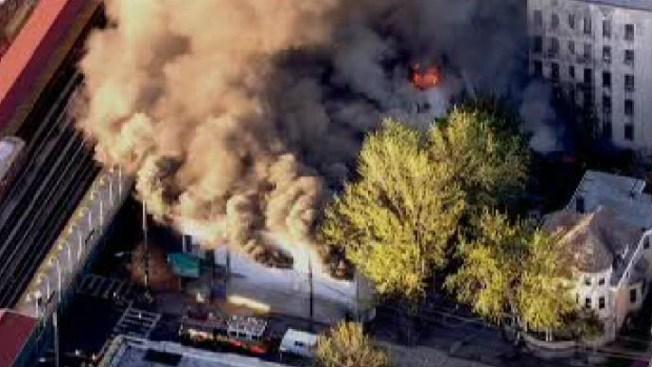 Arson Suspected in Garage Fire