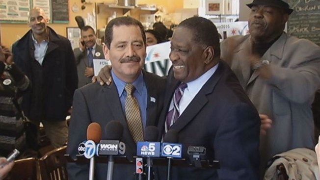 Former Senate President Emil Jones Jr. Endorses Garcia