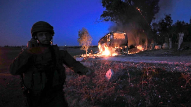 Israel, Hamas Trade Heavy Fire After Deadly Incursion