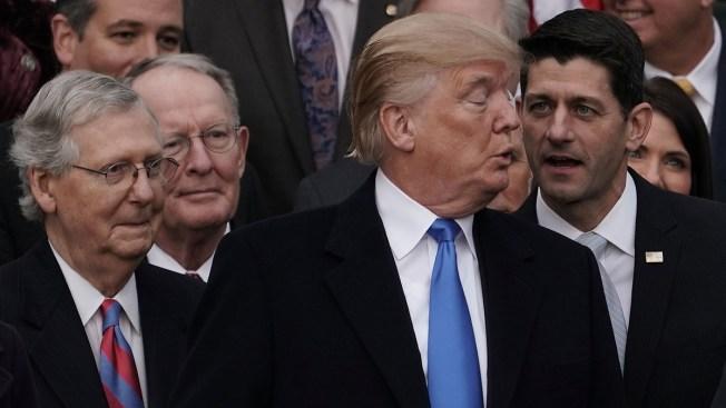 Trump, GOP Congressional Leaders to Meet at Camp David