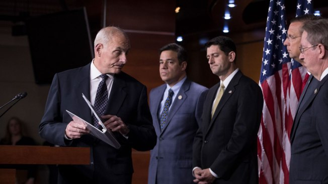 House GOP Backs Bills to Crack Down on Illegal Immigration