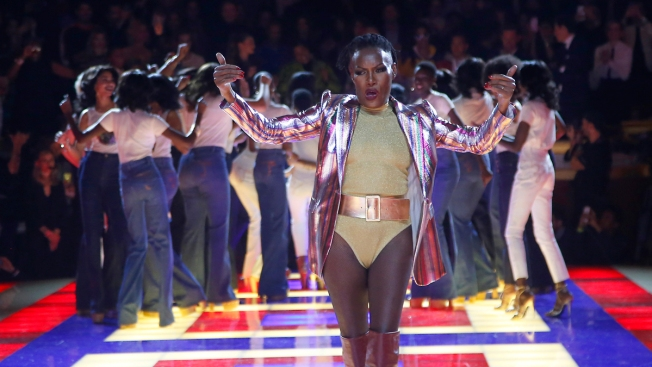 Grace Jones Rocks Zendaya Show as Valentino Gets Ovation