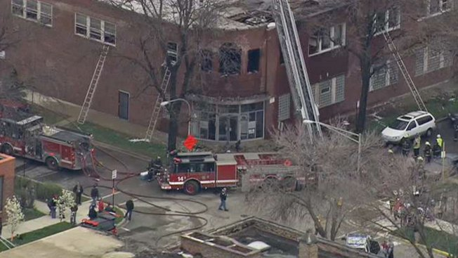 Two-Alarm Fire Struck Out in Humboldt Park
