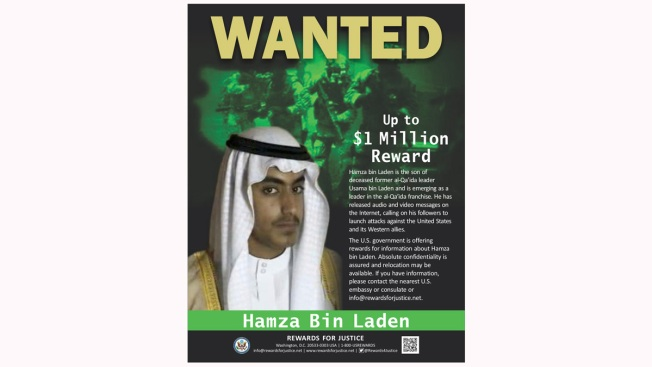 US Offers $1M Bounty for Capture of Osama Bin Laden's Son