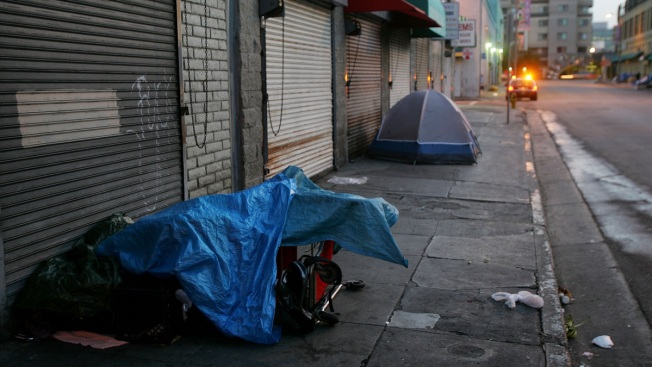 Not Guilty Plea in Death of LA Homeless Man Whose Tent Was Set Ablaze