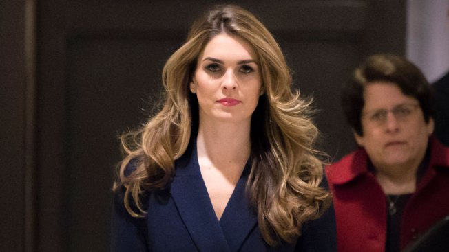 Hope Hicks Says She Told 'White Lies' for Trump, But Not on Russia