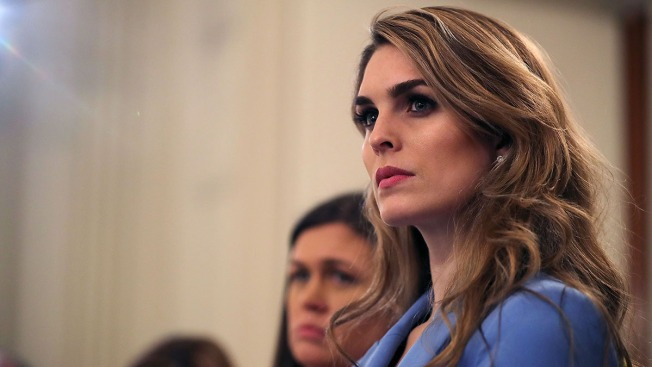 Hope Hicks, White House Communications Director and Longtime Trump Aide, Resigns