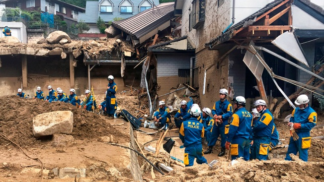 Rescuers Search for Dozens Still Missing After Deadly Japan Floods