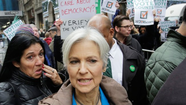 Michigan Recount Begins, Stein Speaks Outside Trump Tower