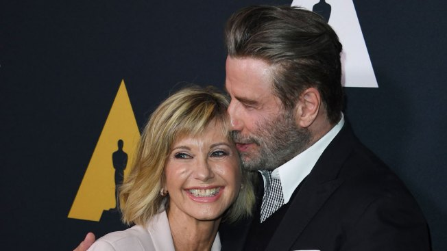 John Travolta and Olivia Newton-John Reunite for 'Grease