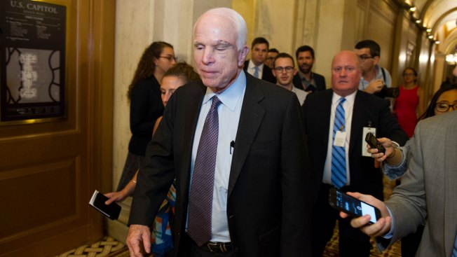 GOP Senator Suggests Brain Tumor Affected McCain Vote