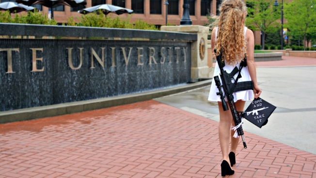 Kent State Grad Unapologetic Over Campus Rifle Photos