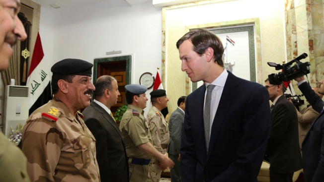 Donald Trump's son-in-law beats USA secretary of state to Iraq