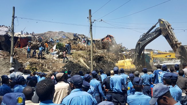 46 Killed, Dozens Missing in Ethiopia Garbage Dump Landslide