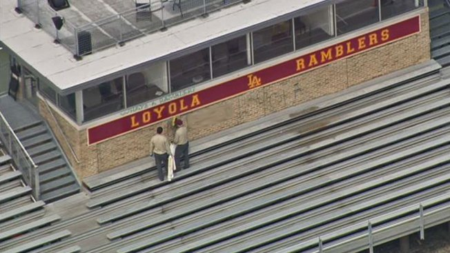 Loyola Academy Hit by Vandals