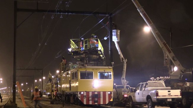 Service Restored on Metra Electric line After Semi Hits Power Lines
