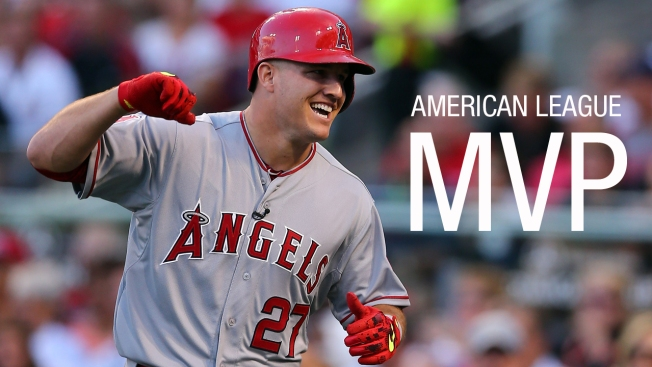 Mike Trout, Kris Bryant Win Baseball's MVP Awards