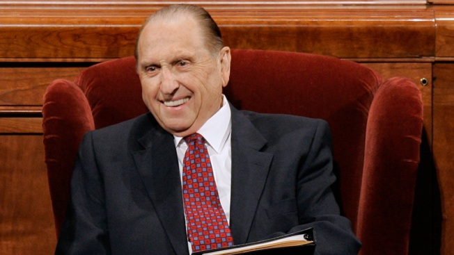 Mormon Church President Thomas S. Monson Dies at 90