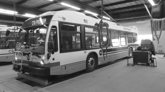 CTA Shows Off New Prototype Buses