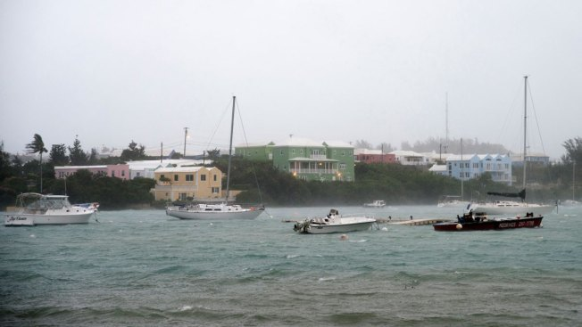 'Extremely Dangerous' Hurricane Nicole Pummels Bermuda, Spins Away