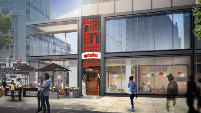 Nice Spread: First-Ever Nutella Cafe Coming to Chicago This May