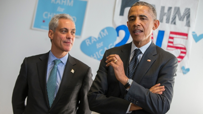President Obama and Mayor Emanuel Still Tight After Two Terms
