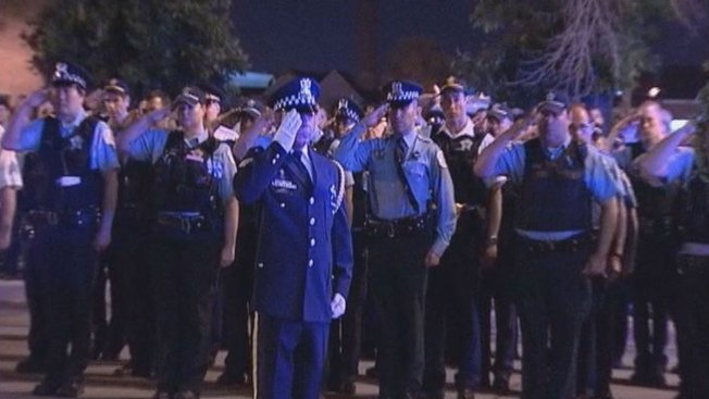 Tribute Held for Officer Slain Six Years Ago