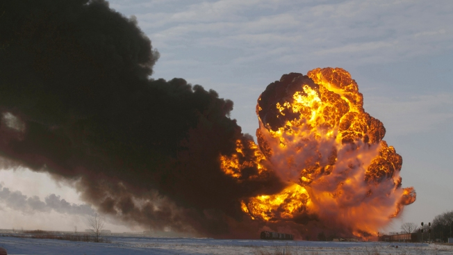 US Miscalculated Benefits of Oil Train Brakes
