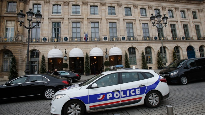 Some jewels found after Paris Ritz heist