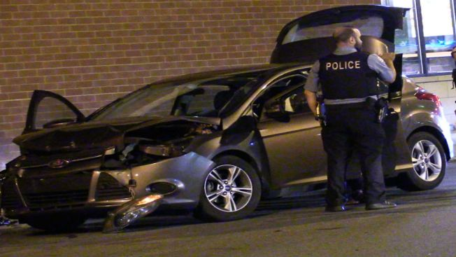 Officers Injured While Responding to Crash on South Side