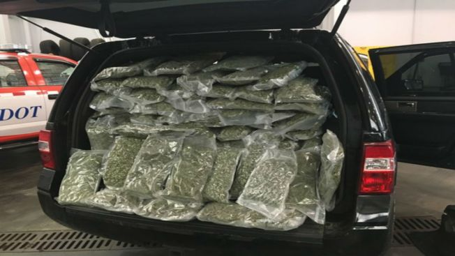 Indiana Police Confiscate $250,000 Worth of Pot in Highway Traffic Stop