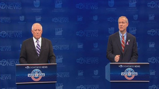 The 11 Biggest Quinn-sults and Rauner Rips From Monday's Debate