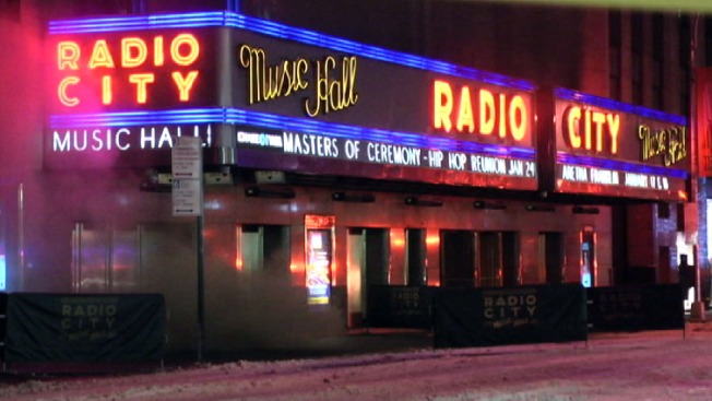 Smoke Sparks Scare at Radio City Music Hall