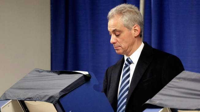 Election Day Rush? Rahm's Motorcade Reportedly Runs Red Light