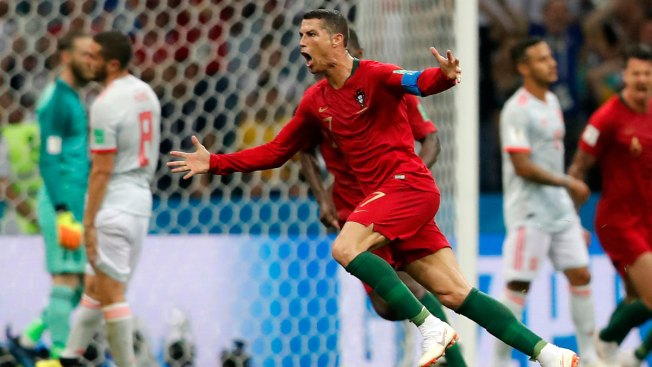 World Cup: Ronaldo Scores Hat Trick as Portugal Draws Spain